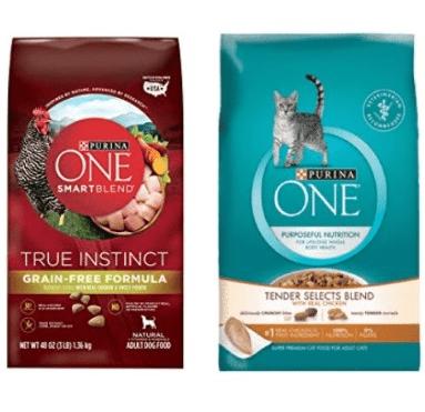 Free Purina One Cat & Dog Food