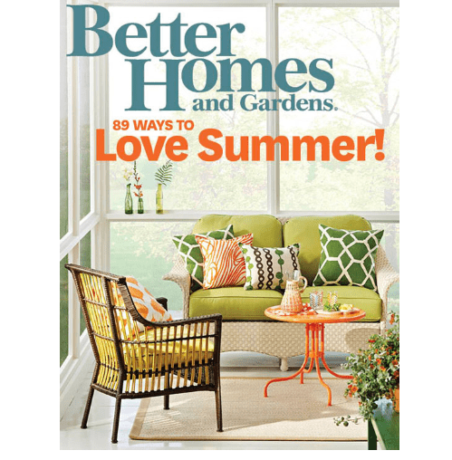 Free Subscription To Better Homes Garden Magazine Swaggrabber