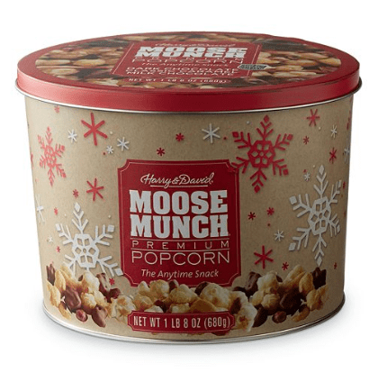 Macy's: Harry & David Moose Munch Gourmet Popcorn Tin ONLY $3.40 (Was $34)