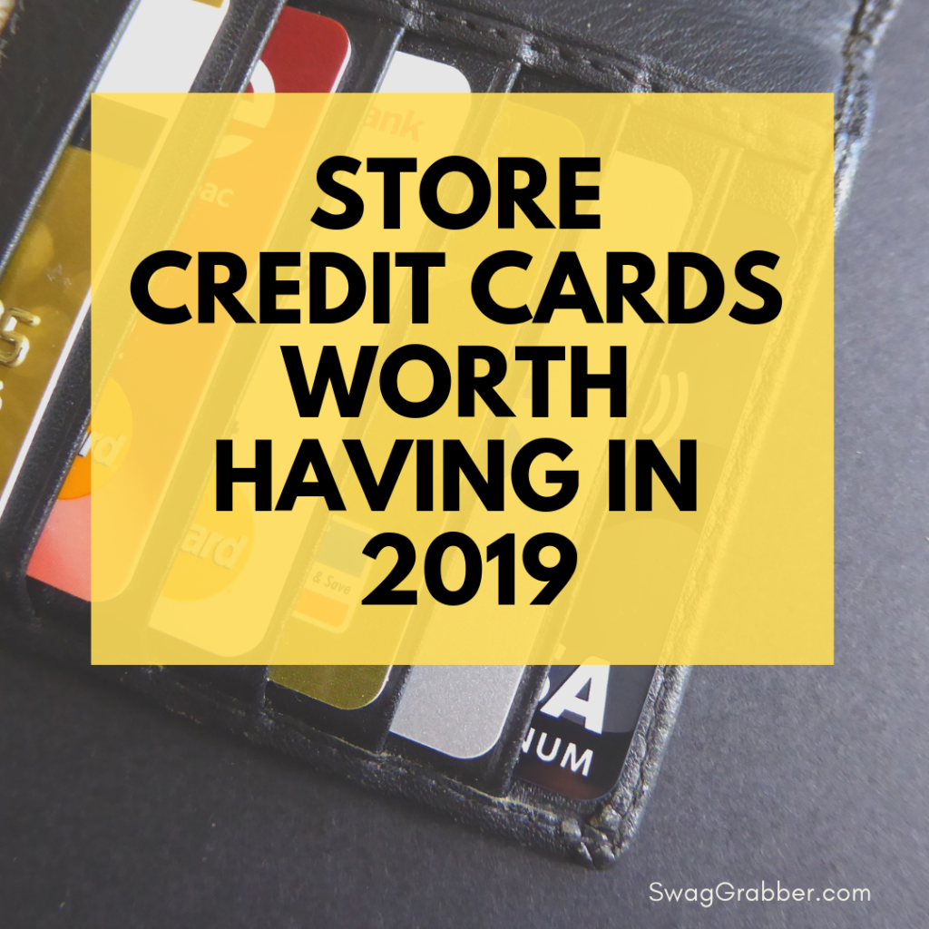 Store Credit Cards Worth Having in 2019