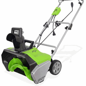 Greenworks 20-Inch 13 Amp Corded Snow Thrower 0