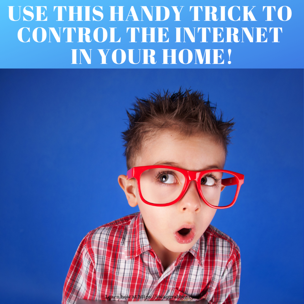 Use This Handy Trick to Control The Internet In Your Home - Basically Block The Kids!!