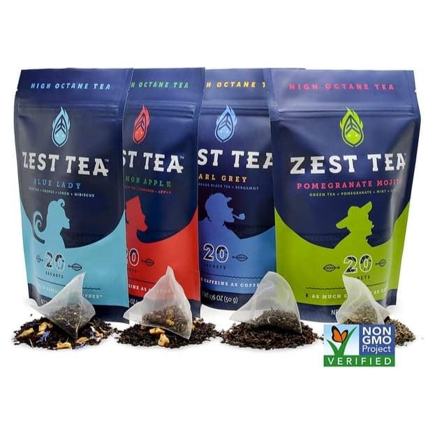 Zest Energy Tea 20 Count Sachets Only $9.71 **6 Flavors**