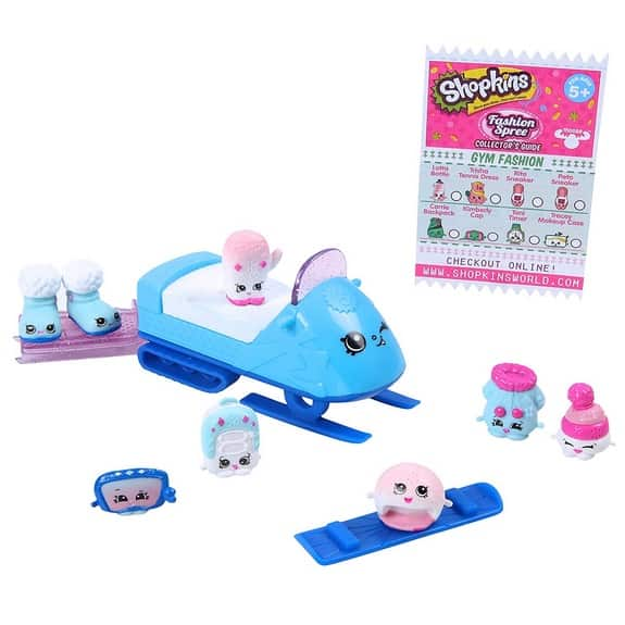 Shopkins Frosty Fashion Collection $6.69