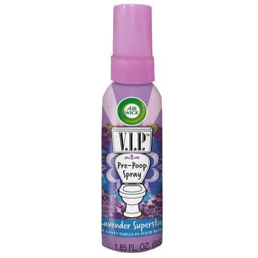 Air Wick V.I.P. Pre-Poop Spray, Lavender Superstar Only $3.79 (Was $8.99)