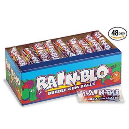 48-Pack Rain-blo Bubble Gum Balls Only $8.24
