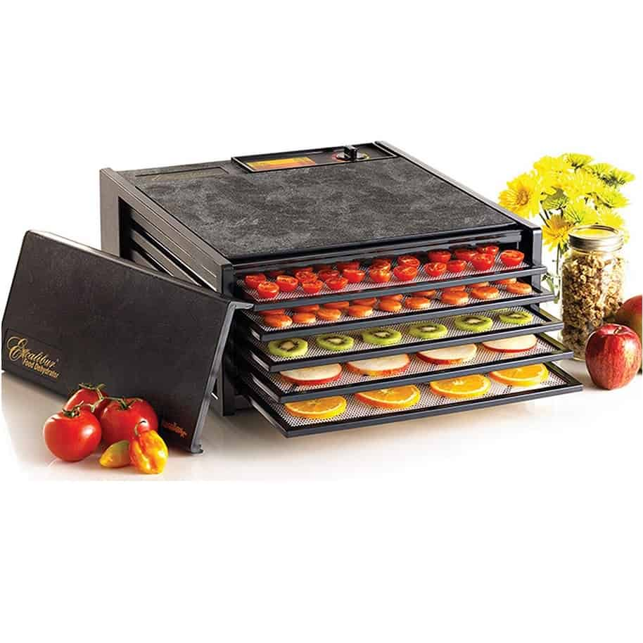 Excalibur 5-Tray Electric Food Dehydrator with Adjustable Thermostat $139.99