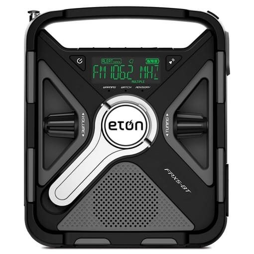 Up to 61% Off Eton Emergency Weather Radios & Portable Sound Systems