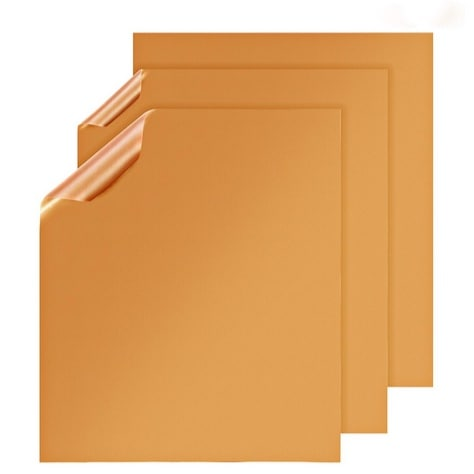 Set of 3 X-Chef Copper Sheets for Grilling Cooking Copper Mats Only $7.99