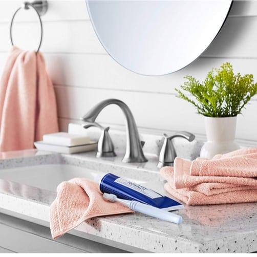 AmazonBasics Quick-Dry Washcloths 12-Pack Only $5.12