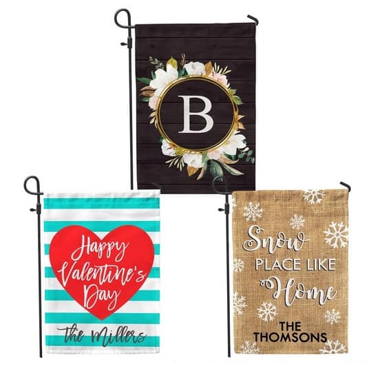 Custom Home & Garden Flags + Free Shipping Only $9.99