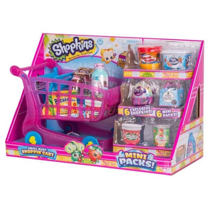 80% Off Shopkins Small Mart Shoppin' Cart **Under $4**