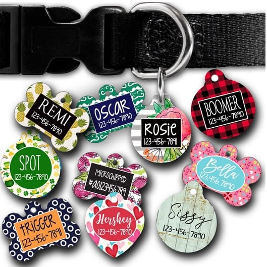 Personalized Pet Tags Only $4.99