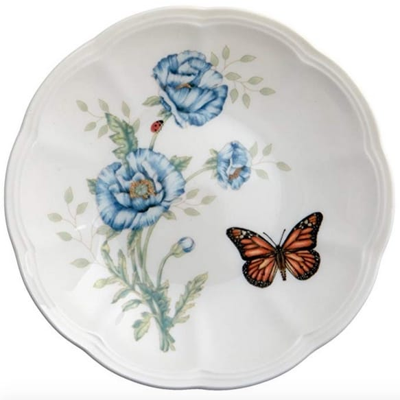 Set of 6 Lenox Butterfly Meadow Party Plates from $13.99