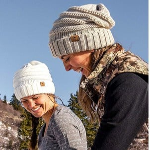 Tough Headwear Slouchy Cable Knit Cuff Beanie as low as $5.91