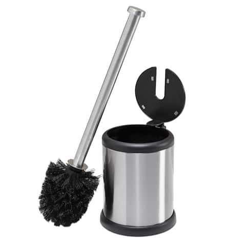 Bath Bliss Steel Toilet Brush and Holder Only $14.73