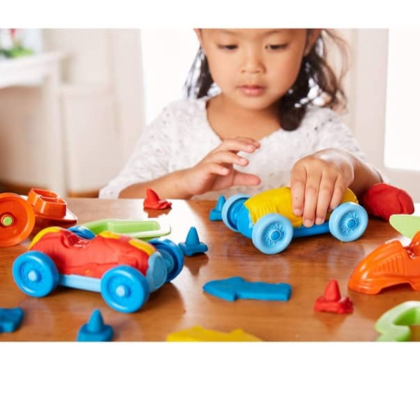 Green Toys Race Car Maker Dough Set Activity Only $5.48