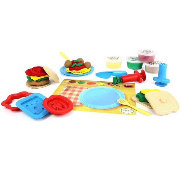 Green Toys Meal Maker Dough Set Activity Only $6.81