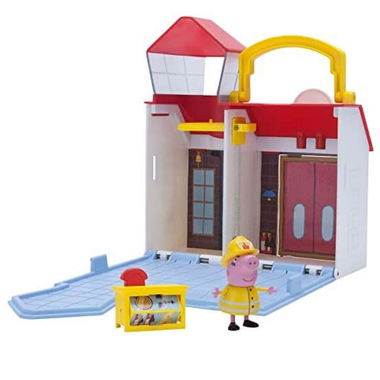 Peppa Pig Firehouse Little Places Playset Only $13.38