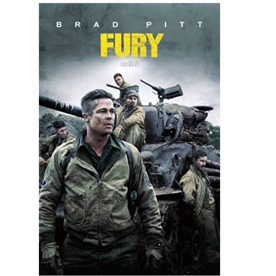 Fury (4K UHD) Movie Download to Own Only $14.99