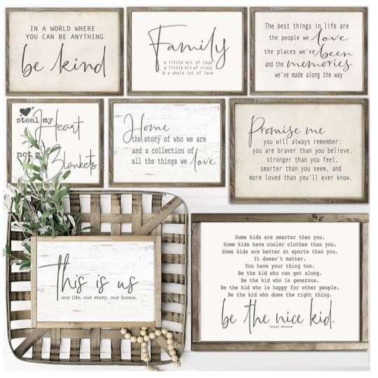 Lg. Rustic Chic Farmhouse Prints Only $3.87 **3 Sizes**