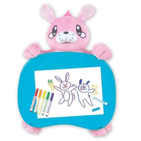 Crayola Travel Lap Desk with Storage, Bunny Stuffed Animal Only $6.74