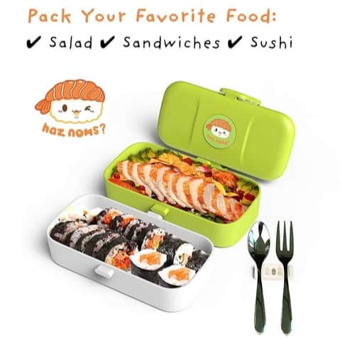 Cute Bento Lunch Box Kids Only $7.89