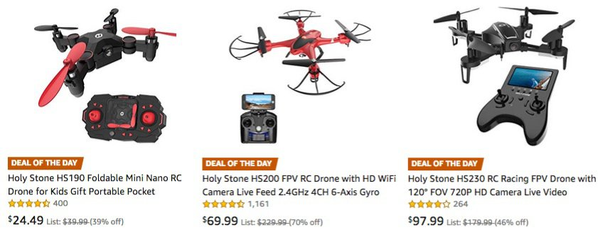Up to 70% Off Drones **Today Only**