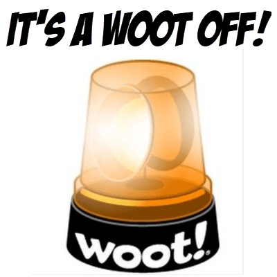 There's a WOOT Off Today + Free Shipping for Prime Members