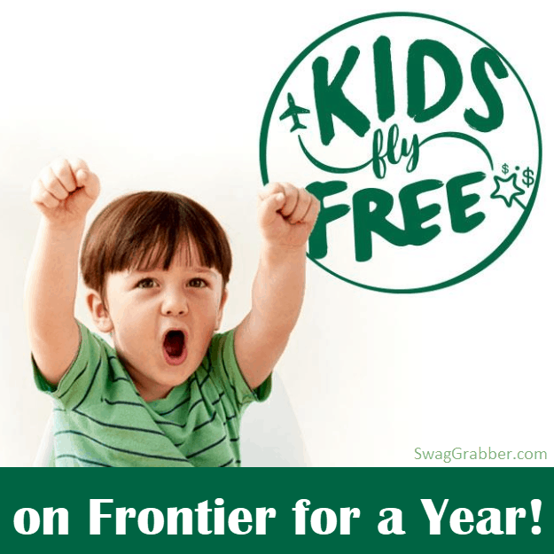 Kids Fly FREE w/ Adult Purchase On Frontier Airlines **SUPER HOT**