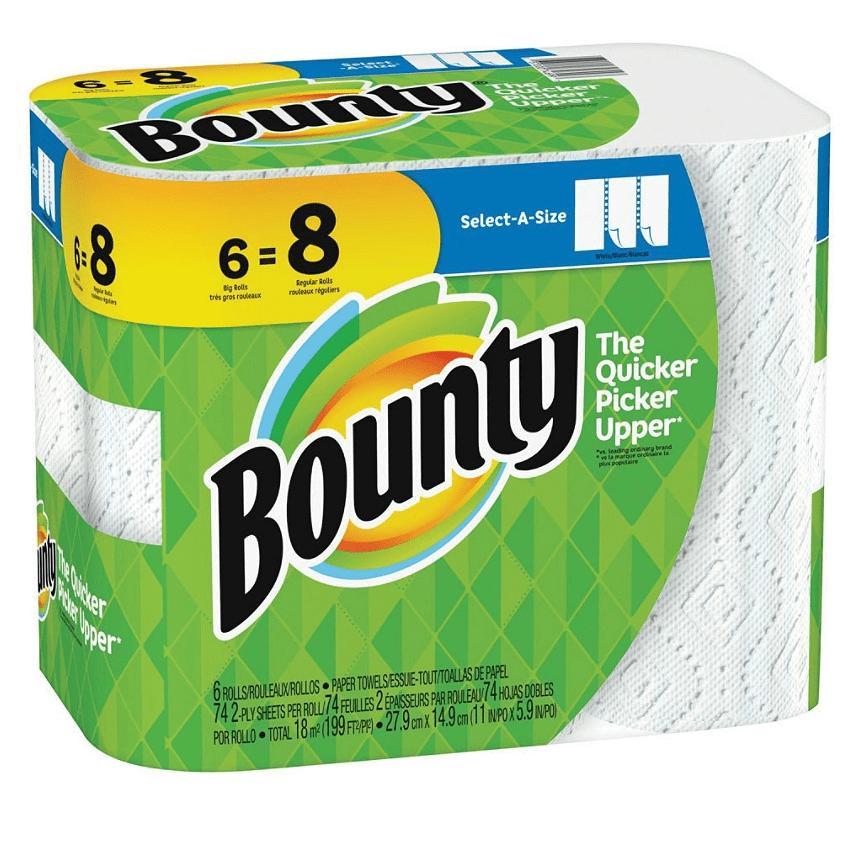 Office Depot: Bounty Paper Towels $0.75 Per Roll - Charmin $0.14 Per Roll