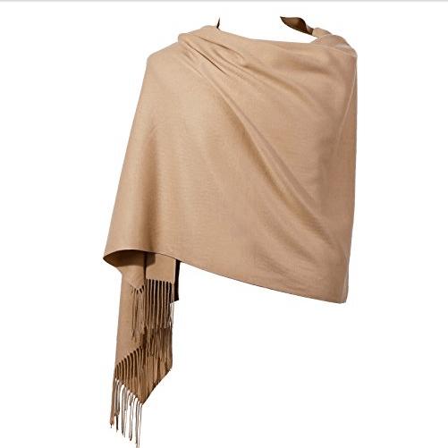 Womens Pashmina Shawl Wrap Scarf Only $14.74