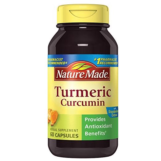 Nature Made Turmeric Curcumin 500 mg. Capsules 60 Ct Only $3.77