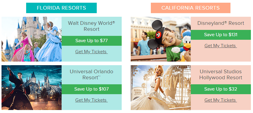 Buy Discounted Disney Tickets Online - Get CHEAP Disney World Tickets