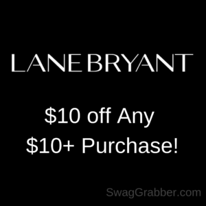Get $10 off Any Lane Bryant Purchase