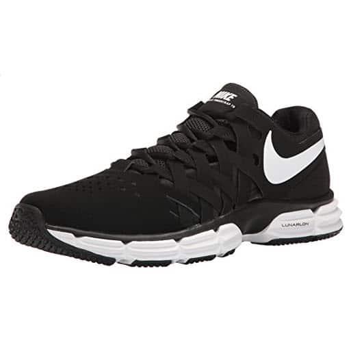 Nike Men's Lunar Fingertrap Trainer Cross White-Black ONLY $22.50