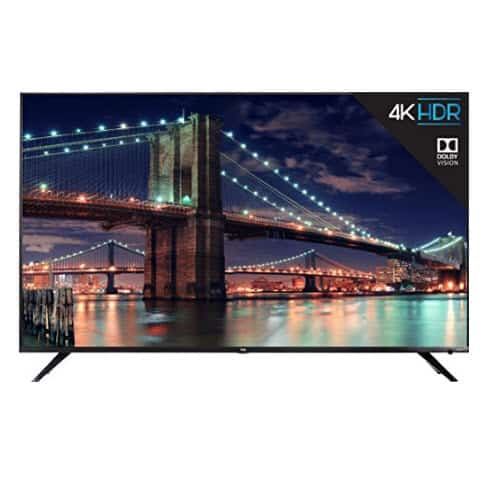 TCL 65R617 65-Inch 4K Ultra HD Roku Smart LED TV ONLY $499.99 (Was $1300)