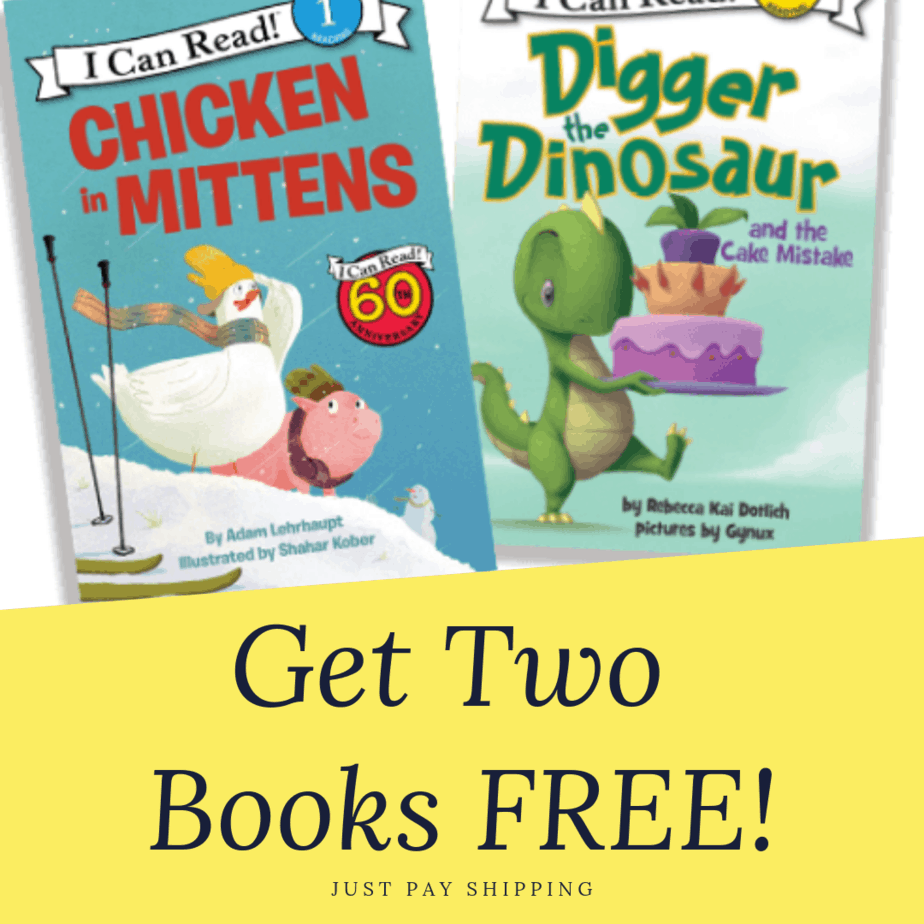 Get 2 FREE I Can Read! Books - Just Pay $1 Shipping