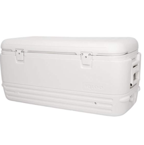 Igloo Polar Cooler (120-Quart, White) $57