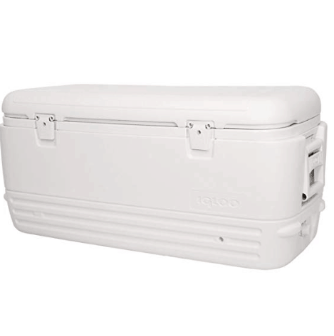 Igloo Polar Cooler (120-Quart, White) $57