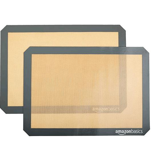 AmazonBasics Silicone Baking Mat - 2-Pack $8.38