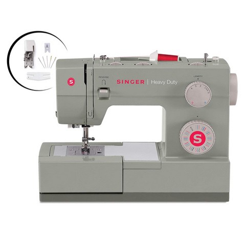 SINGER Heavy Duty 4452 Sewing Machine with Accessories $130.59 (Was $295.99)