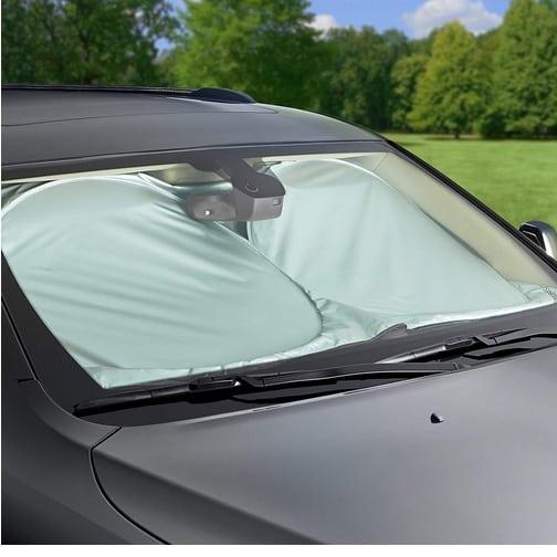 AmazonBasics Car Windshield Sun Shade Only $5.27