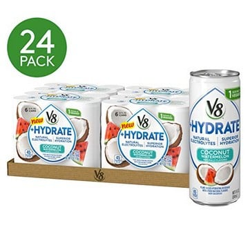 24-Count V8 +Hydrate Plant-Based Beverage Watermelon 8oz Only $7.95