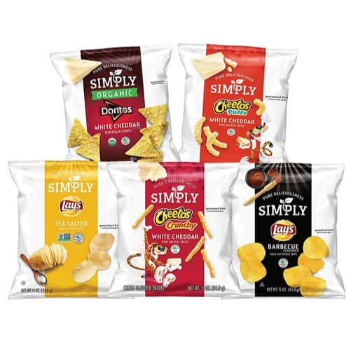 Simply Brand Organic Variety Pack 36-Count Only $10.62