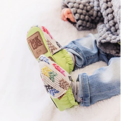 MUK LUKS Baby Soft Shoes Only $9.99 + Free Shipping