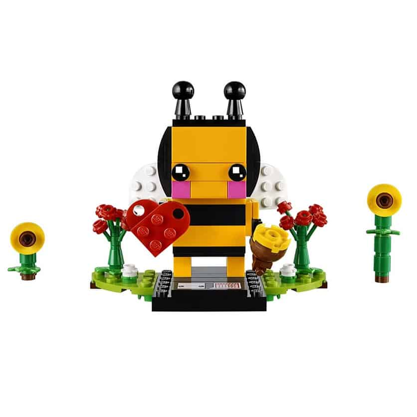 LEGO BrickHeadz Valentine's Bee Building Kit Only $7.99