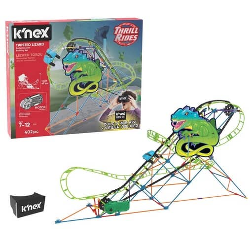 K'NEX Thrill Rides Twisted Lizard Roller Coaster Building Set Only $18.03 (Was $54.99)