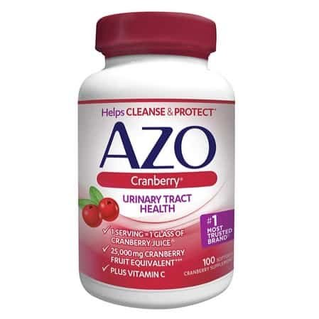 AZO Cranberry, Urinary Tract Health Supplement, 100 Count Only $7.75
