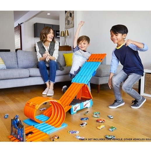 Hot Wheels Track Builder System Race Crate Only $31.42